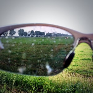 zonnebrilregen